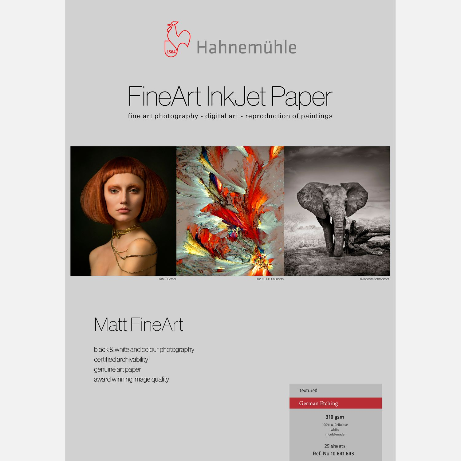 Hahnemühle German Etching 310 g m² A4 25 vel