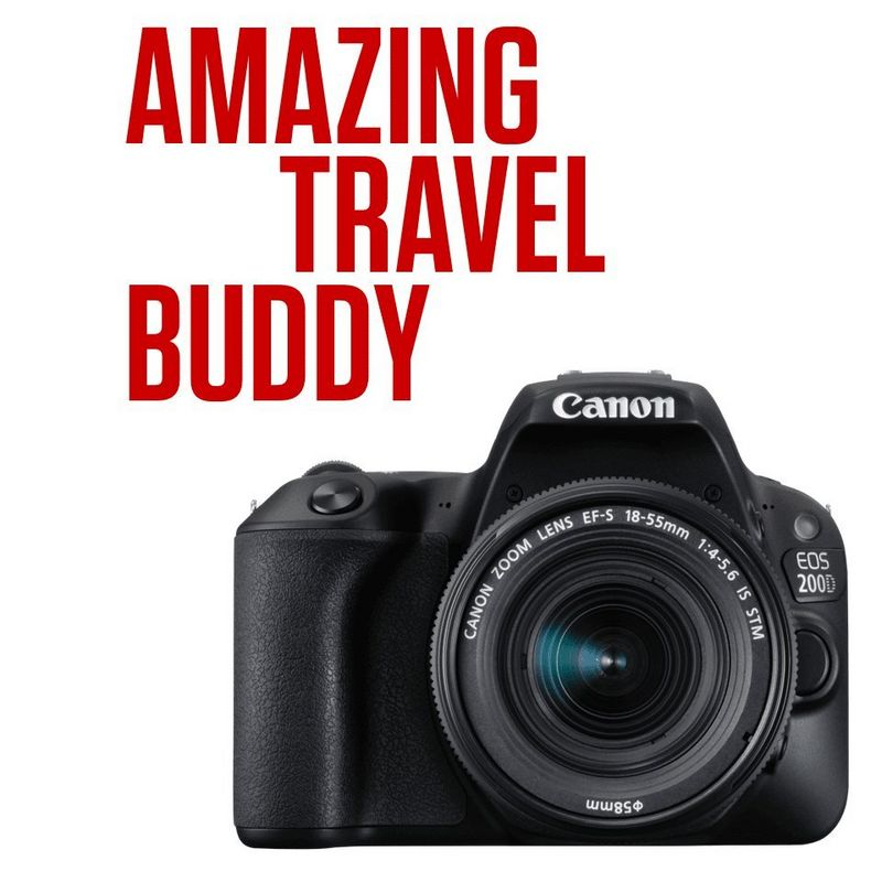Step up your photography with the EOS 200D