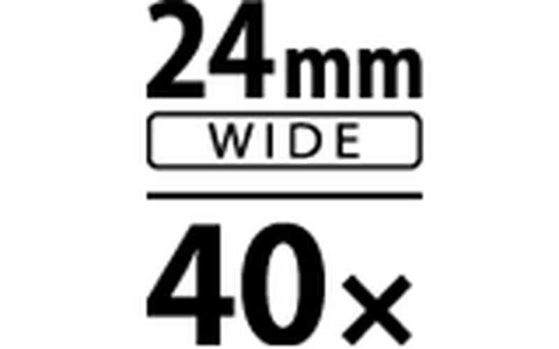 24mm 40x zoom
