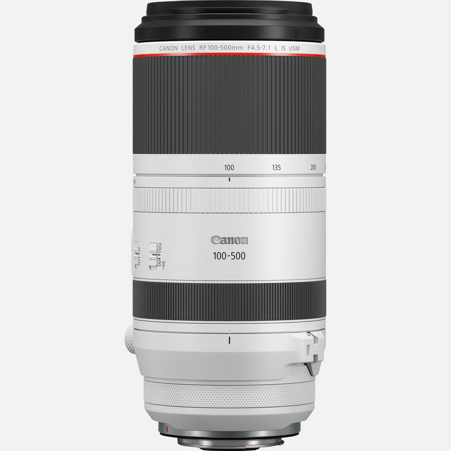 Canon RF 100 500mm F4.5 7.1L IS USM lens
