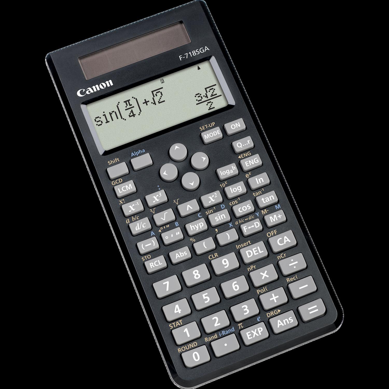 Canon F 718sga Calculators Canon Uk
