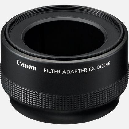 Adaptateur de filtre pour objectif FA-DC58B Canon