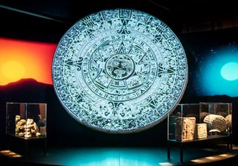 New Fire: illuminating the fifth Aztec sun