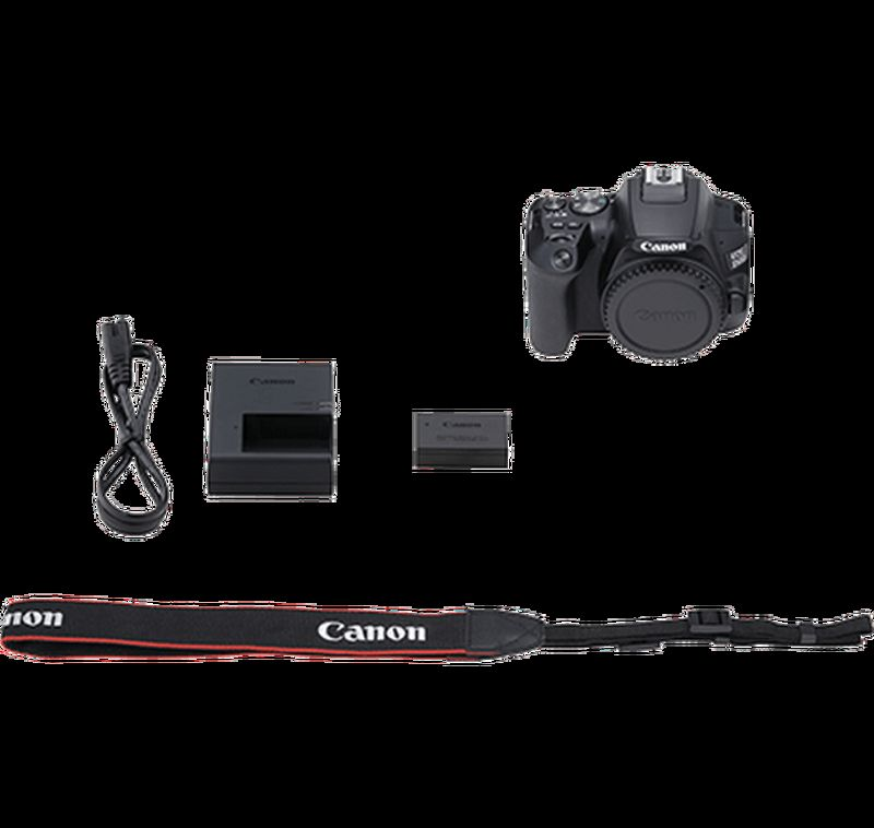 EOS 250D box contents