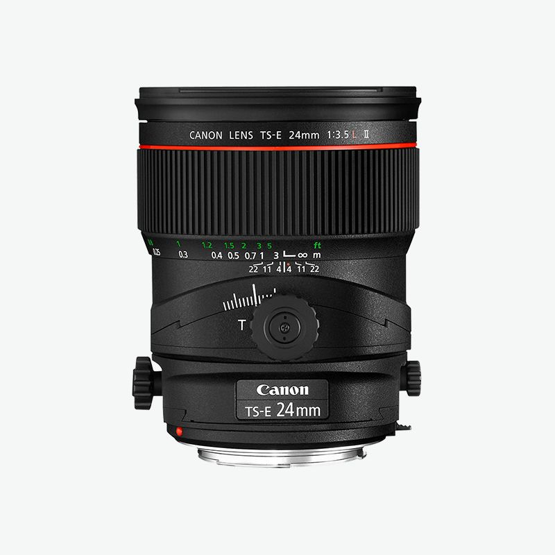 TS-E 24mm f/3.5L II L series Lense