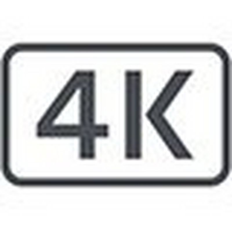 Icône caméscope numérique 4K
