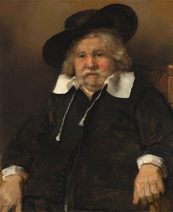 Rembrandt's Portrait of an Elderly Man (Copyright: Mauritshuis collection, The Hague)