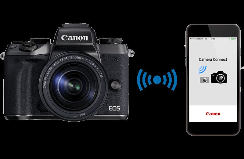 how to connect canon camera to computer while shooting