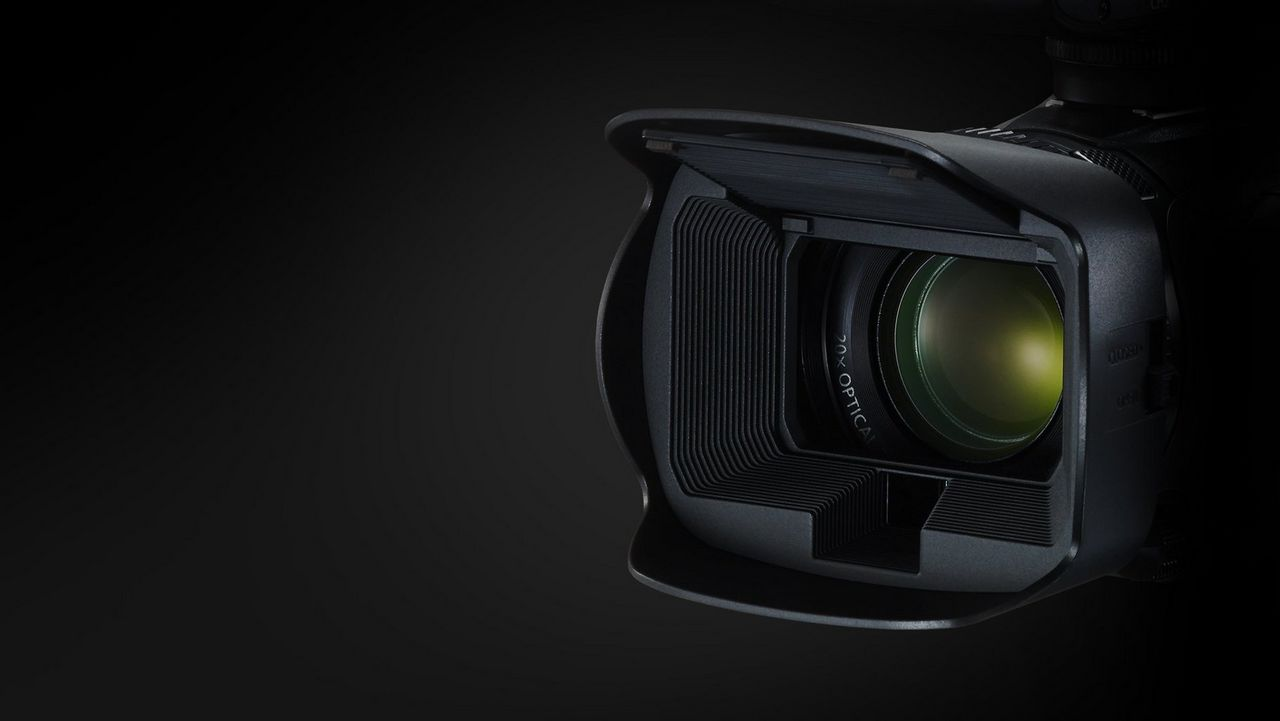4K 20x optical zoom lens with wide angle