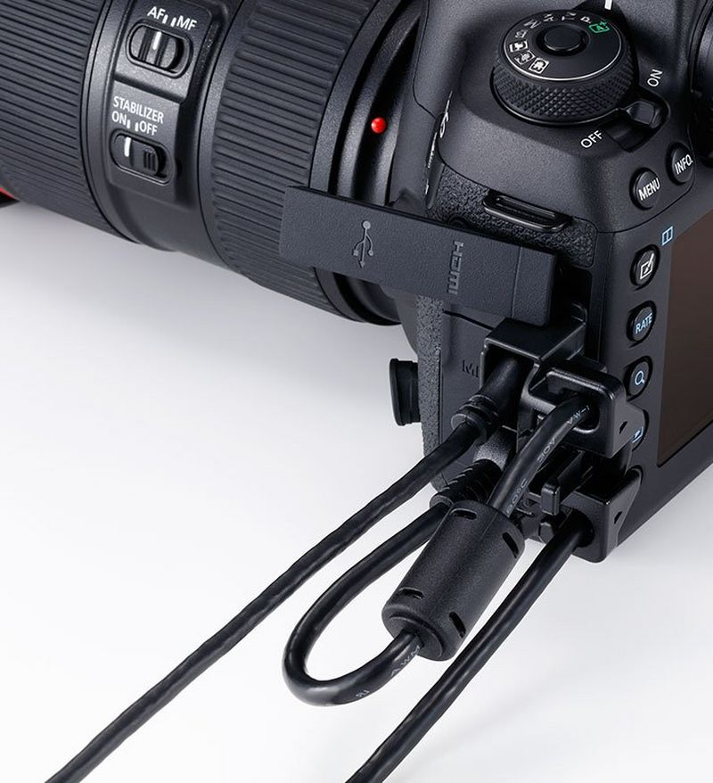USB connectivity with EOS 5D Mark IV