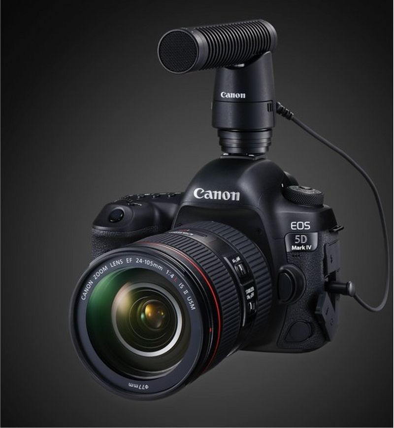 EOS 5D Mark IV with DM-E1 microphone