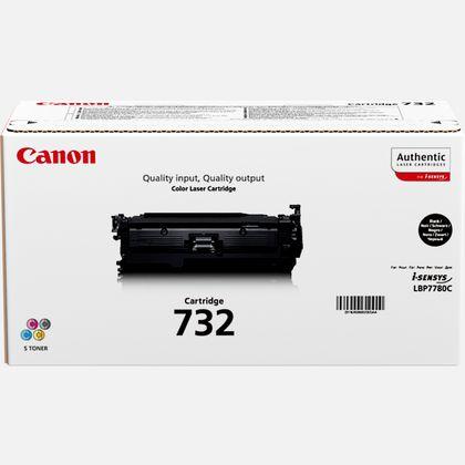 Cartouche toner noir Canon 732BK