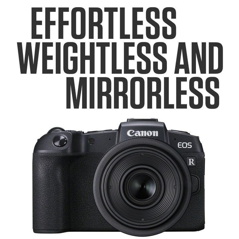 Effortless, weightless and mirrorless
