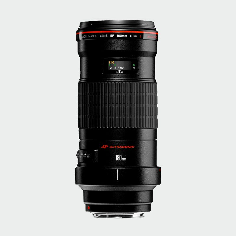 EF 180mm f/3.5L Macro USM L series Lense