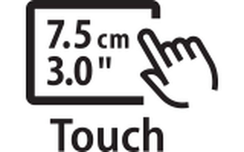 7.5cm Touchscreen