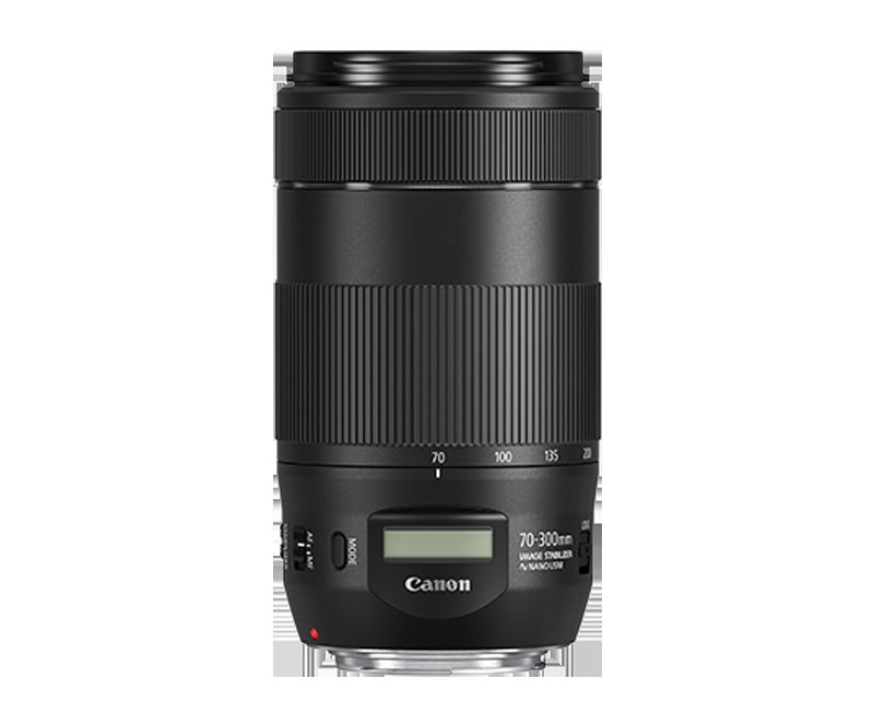 EF 70-300mm f/4-5.6 IS II USMpack shot straight on