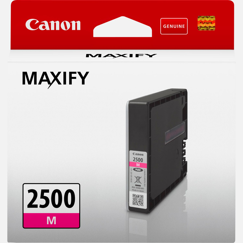 Cartouche d'encre magenta Canon PGI-2500M
