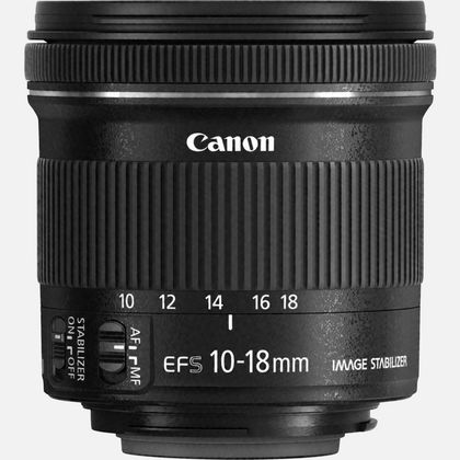 Objectif Canon EF-S 10-18mm f/4.5-5.6 IS STM