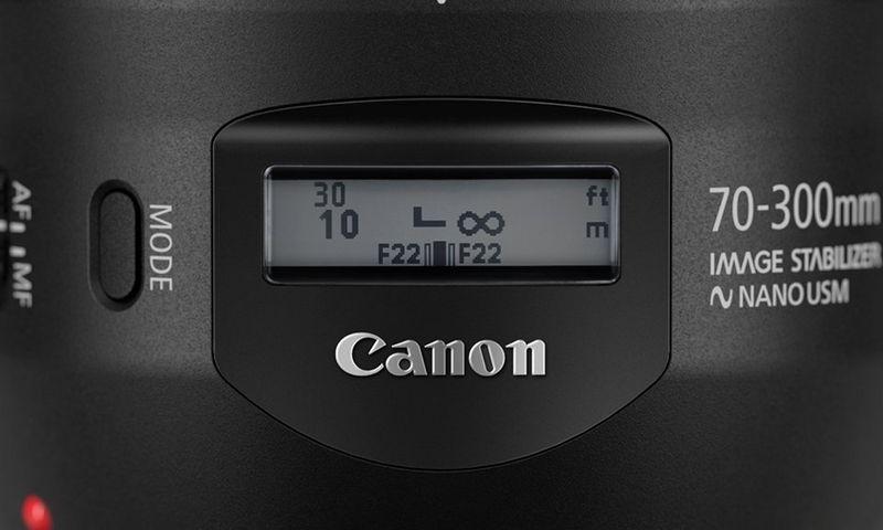 Objectif Canon EF 70-300mm f/4-5.6 IS II USM prix tunisie