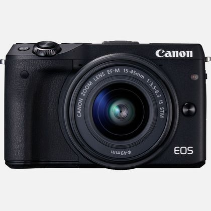 Canon EOS M3 + objectif EF-M 15-45 mm IS STM