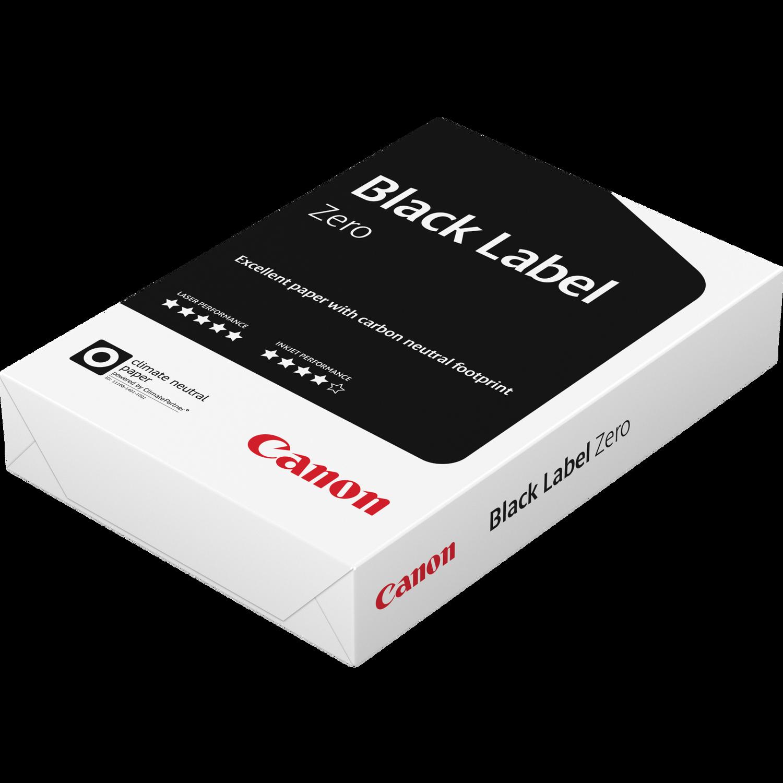 papier a4 canon black label zero fsc 80 g m 500 feuilles canon france boutique. Black Bedroom Furniture Sets. Home Design Ideas