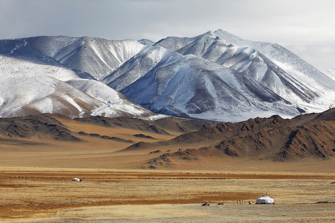 The Altai mountains in West Mongolia. © Alessandra Meniconzi