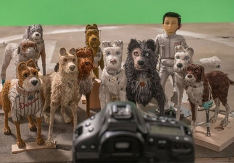 Behind the scenes of Wes Anderson's film Isle of Dogs