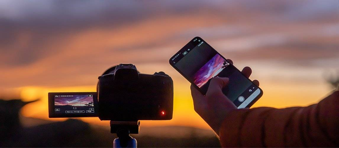 Connecting EOS Ra to a smartphone for remote shooting and image review