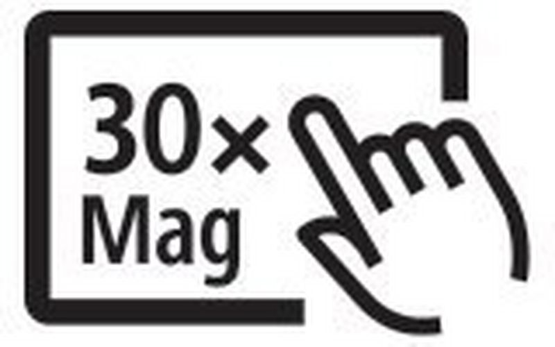 Canon EOS Ra 30x magnification icon