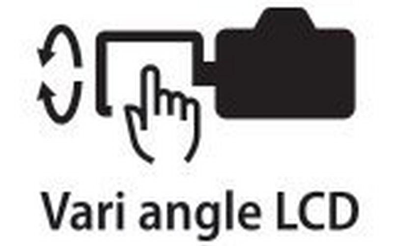 Canon 正规的足球竞彩app推荐a vari angle touchscreen icon