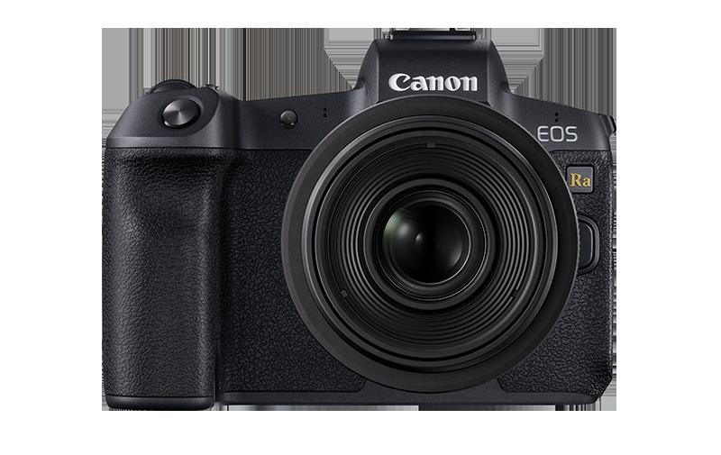 Canon EOS Ra pack shot FRT