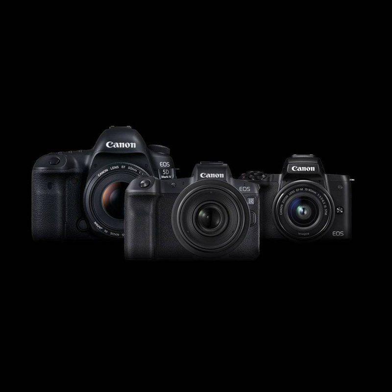 Canon range of cameras