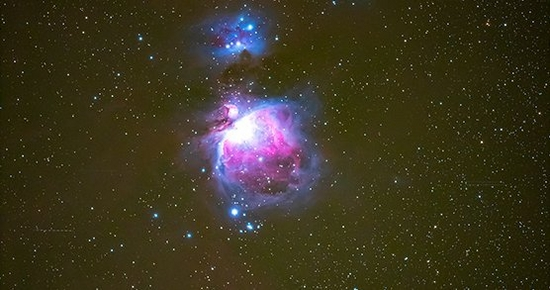 Canon EOS Ra Sample of Orion's Nebula
