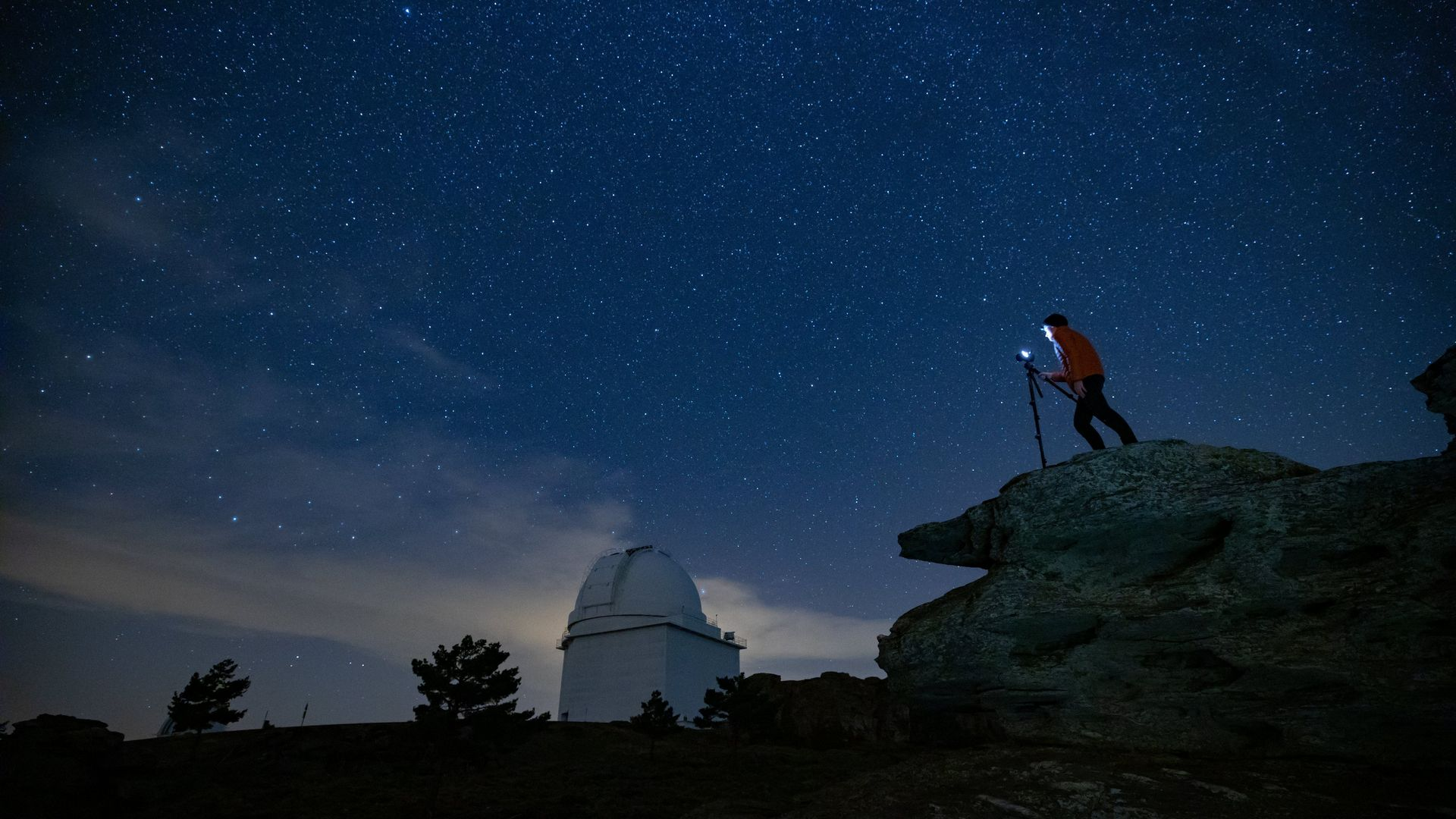 Canon 正规的足球竞彩app推荐a and Calar Alto observatory