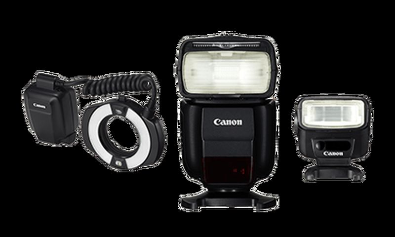 Canon speedlite flashes Macro Ring lite 430EX 270EX 1