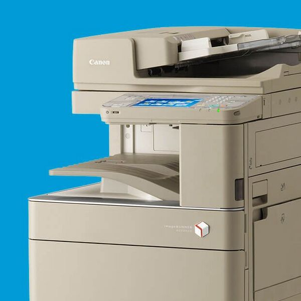 Canon's document management solution used a suite of imageRUNNER ADVANCE C5200i devices.