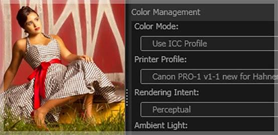 Colour-management