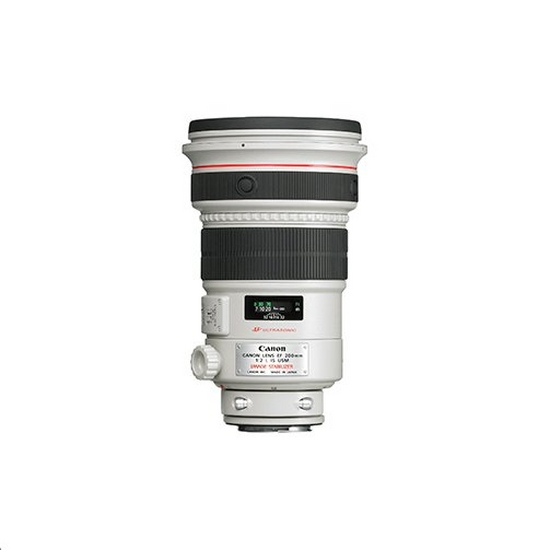 EF 200mm f2L IS Telephoto lens