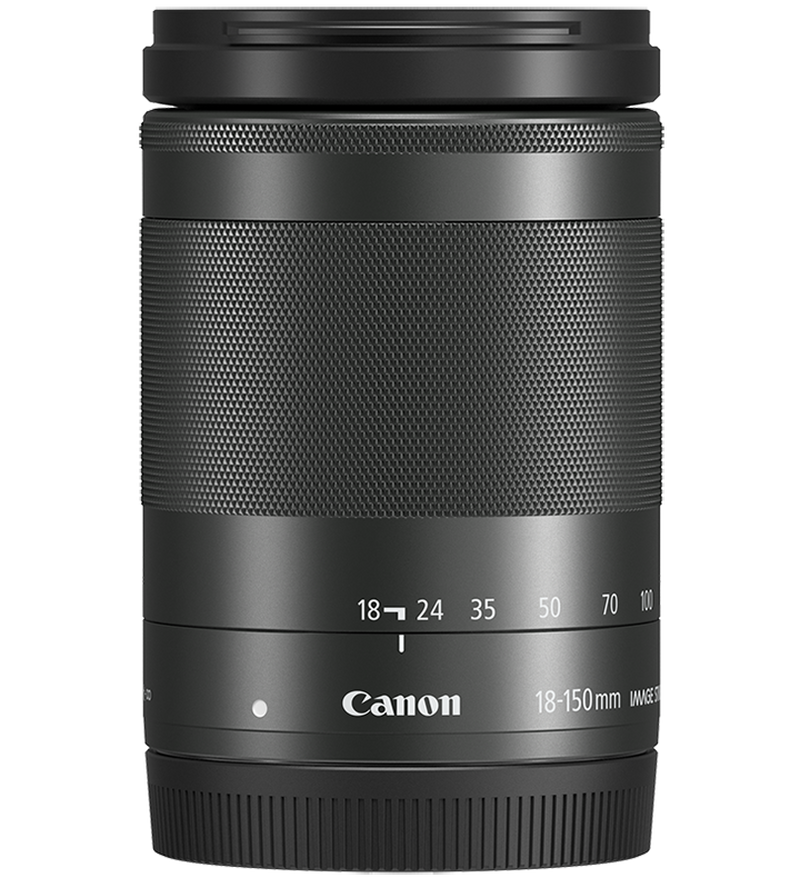 EF-M 18-150mm f/3.5-6.3 IS STM Black