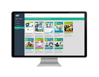 EFI DirectSmile Cross Media Suite customer communication management software
