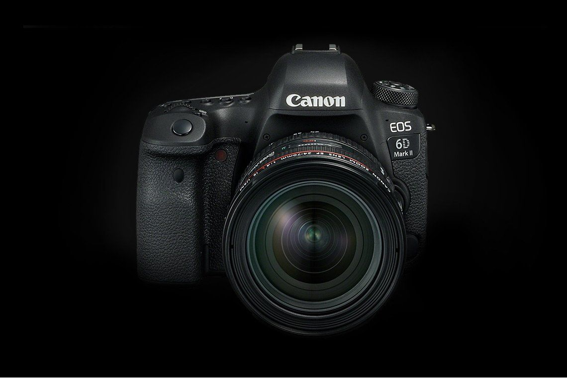 Canon 6D Mark II Body with Lens