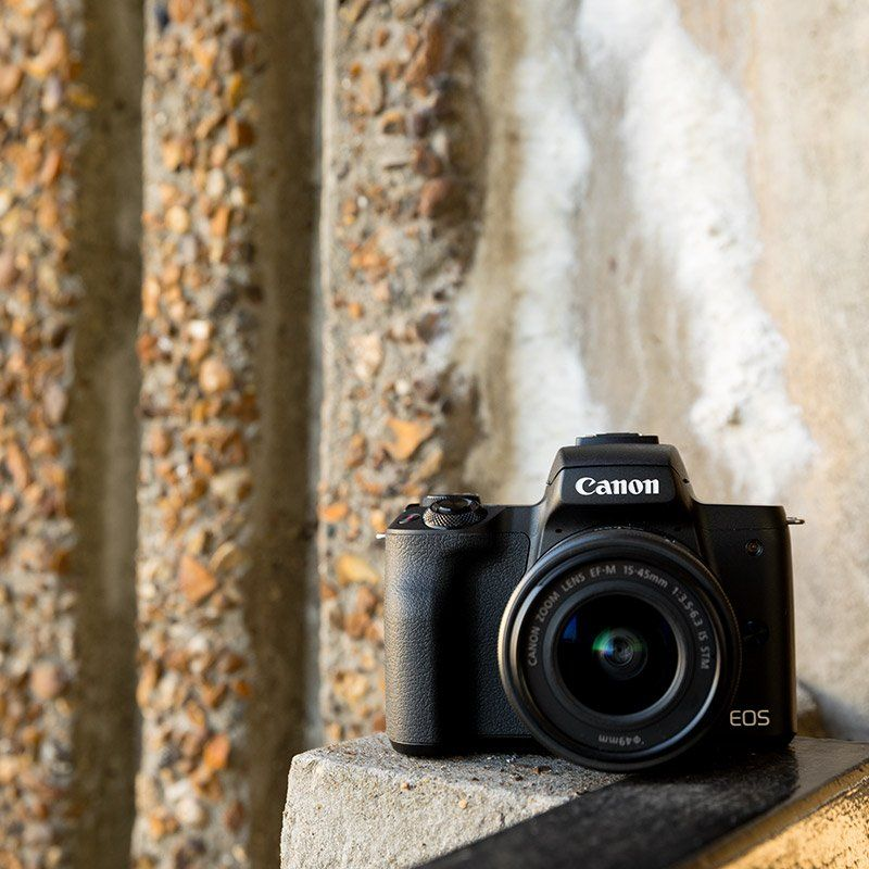 Canon M50 mirrorless ambient