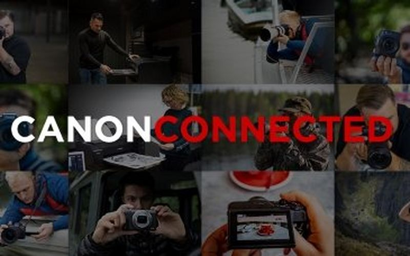 Canon launches Canon Connected - a free to access content hub featuring educational and inspiring videos for photography enthusiasts