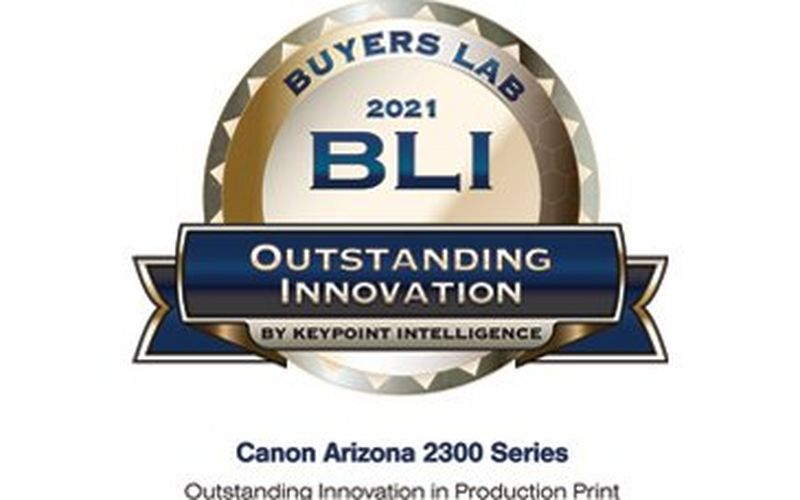 CANON RECEIVES THREE KEYPOINT INTELLIGENCE AWARDS IN BUYER'S LAB ROUND-UP