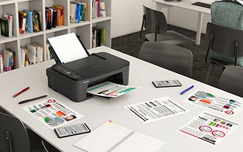 Print, scan and copy effortlessly with Canon's PIXMA TS3450 Series, a compact and easy-to-use entry-level printer