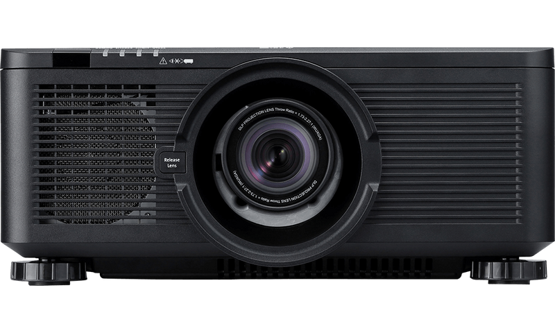 Canon projector LX-MU600Z front product shot