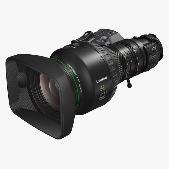 "A compact and light 2/3"" 8.5-128mm UHDgc lens boasting a Vari-Angle Prism for exceptional optical stabilisation at high magnification."