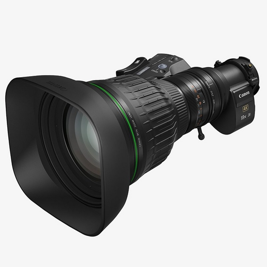 "A compact, portable and lightweight 2/3"" 28-500mm 4K broadcast zoom featuring a 2x extender for an exceptional 1000mm telephoto reach."