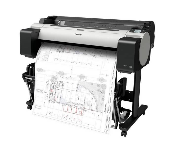 Canon imagePROGRAF TM-300 36-inch 5-Color Inkjet Printer Plotter