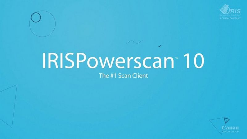 IRISPowerscan10_video